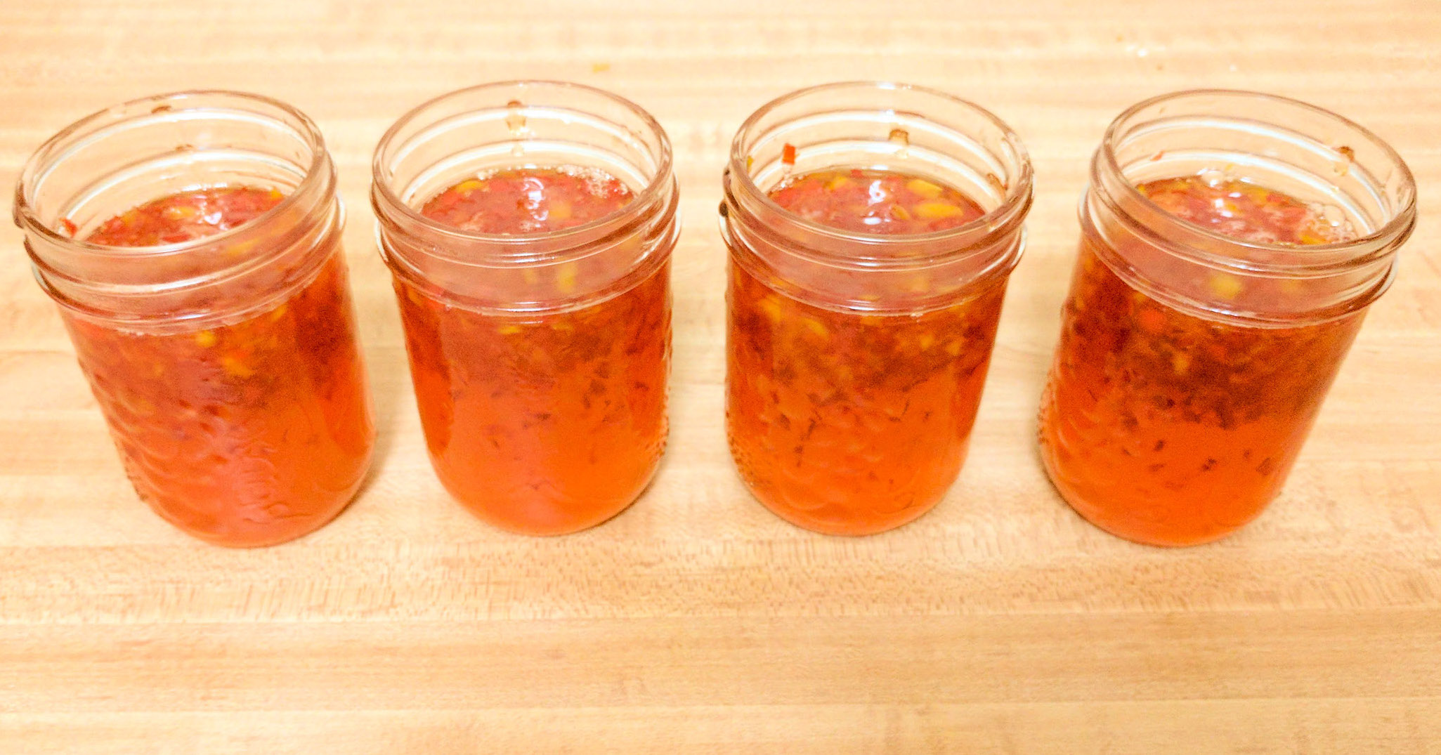 Fiery Hot Pepper Jelly